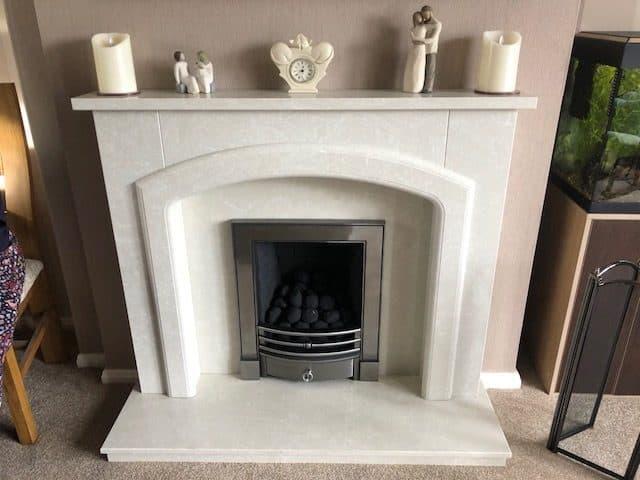 Fireplace & Multi Fuel Burner Completed Installation   Building Renovation