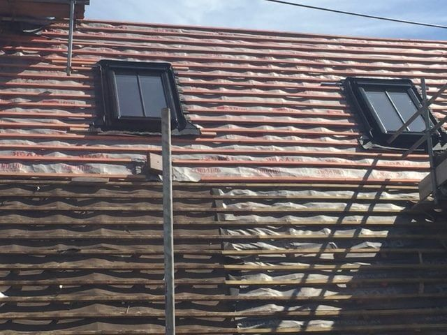 Roofing During