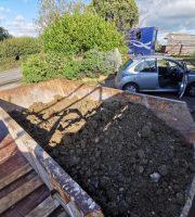 Floor dug out