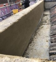 Parapet wall render