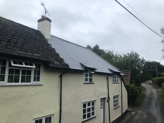 Complete re-roof in Taunton