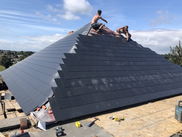 Re-roof in Yeovil